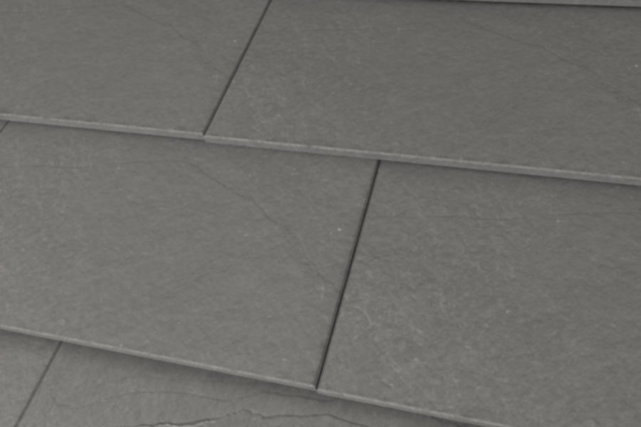Slate Roof Tiles royalty-free 3d model - Preview no. 1