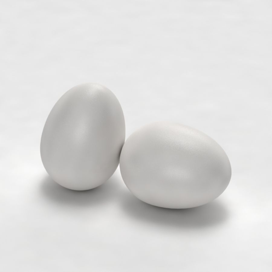 Egg royalty-free 3d model - Preview no. 3