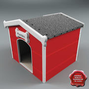 Dog Kennel V3 3d model