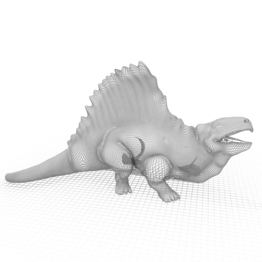 Metriacanthosauras royalty-free 3d model - Preview no. 8