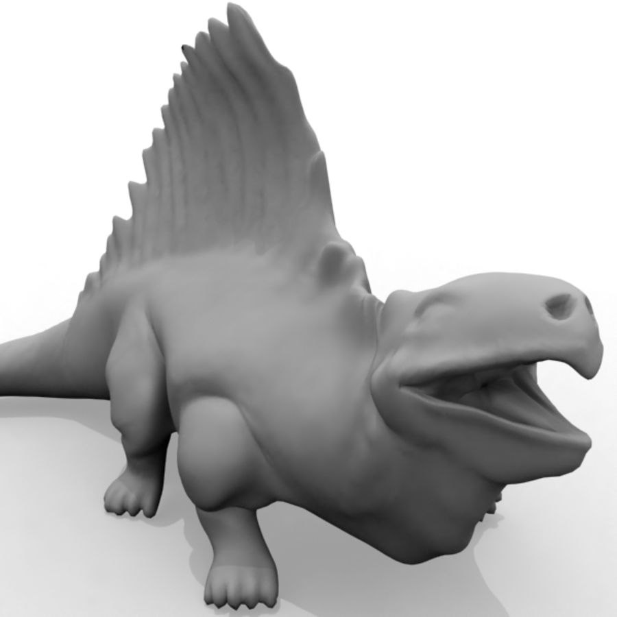 Metriacanthosauras royalty-free 3d model - Preview no. 7