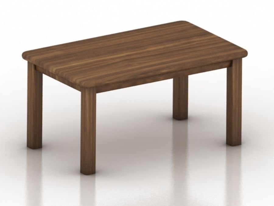 Wood Furniture Collection royalty-free 3d model - Preview no. 9