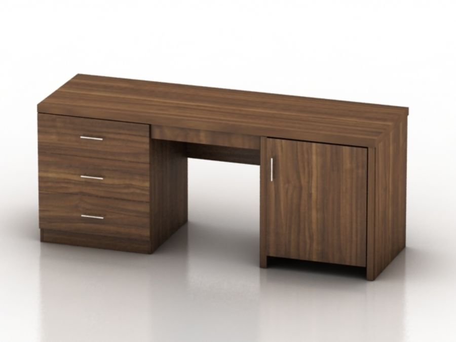 Wood Furniture Collection royalty-free 3d model - Preview no. 21