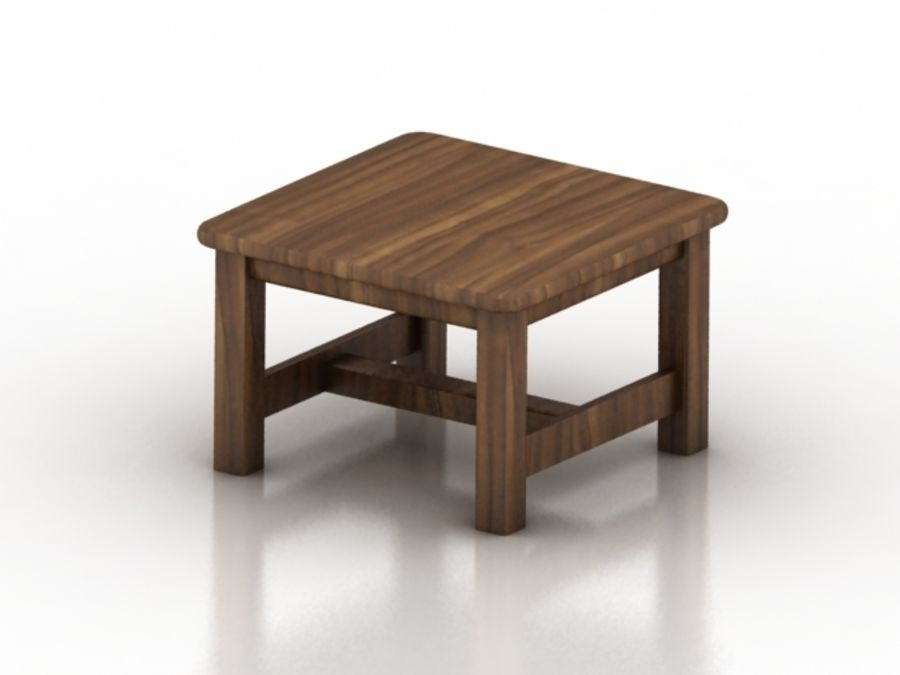 Wood Furniture Collection royalty-free 3d model - Preview no. 6