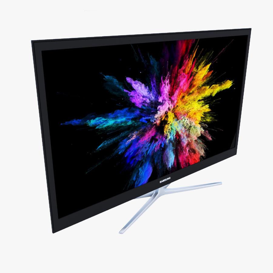 Telewizor z płaskim ekranem royalty-free 3d model - Preview no. 1