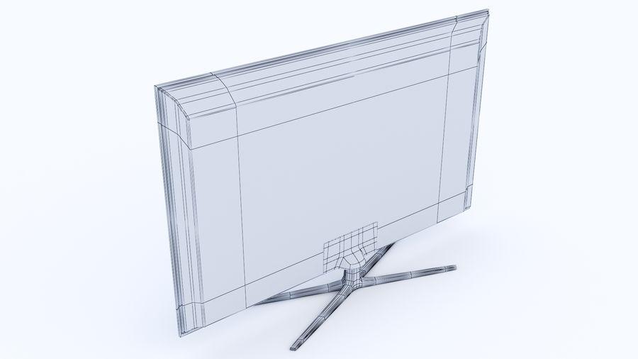 Telewizor z płaskim ekranem royalty-free 3d model - Preview no. 5