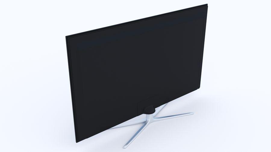 Telewizor z płaskim ekranem royalty-free 3d model - Preview no. 4