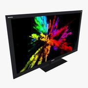 TV à écran plat 3d model
