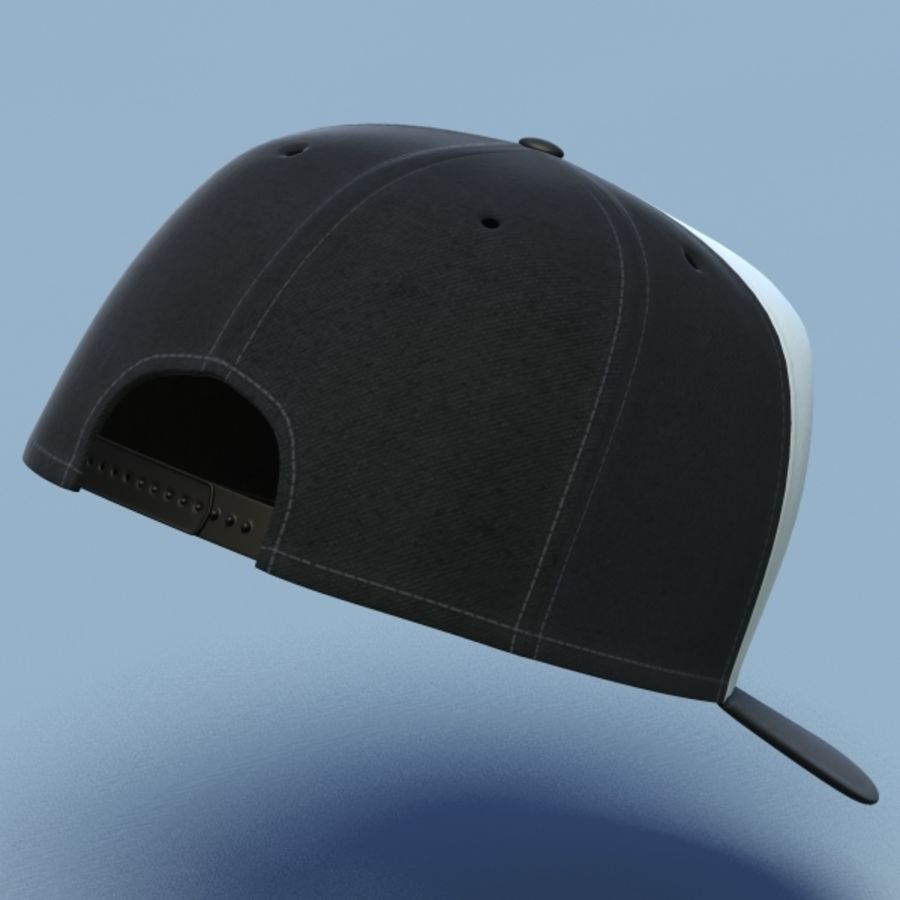Baseball cap #02 royalty-free 3d model - Preview no. 7