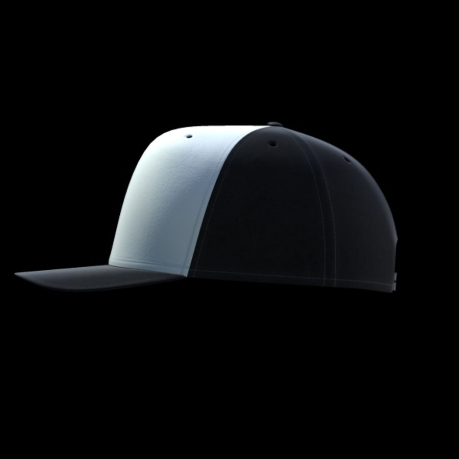 Baseball cap #02 royalty-free 3d model - Preview no. 11