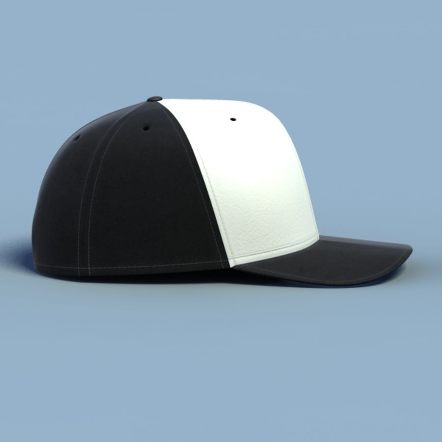 Baseball cap #02 royalty-free 3d model - Preview no. 15
