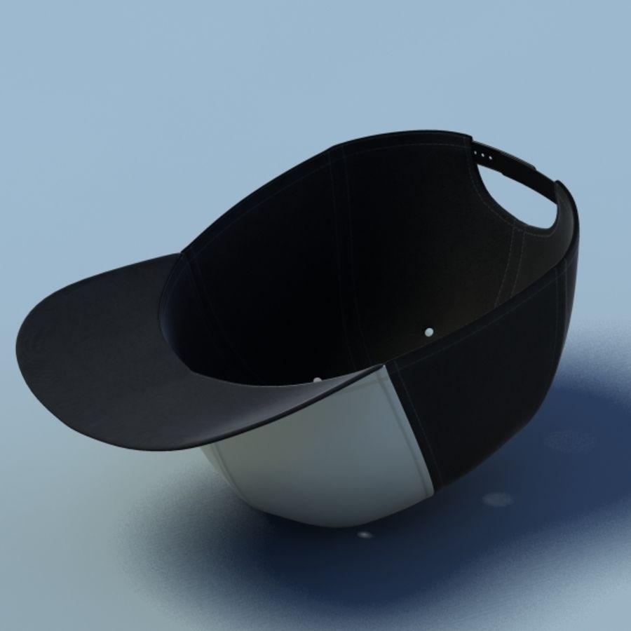 Baseball cap #02 royalty-free 3d model - Preview no. 5