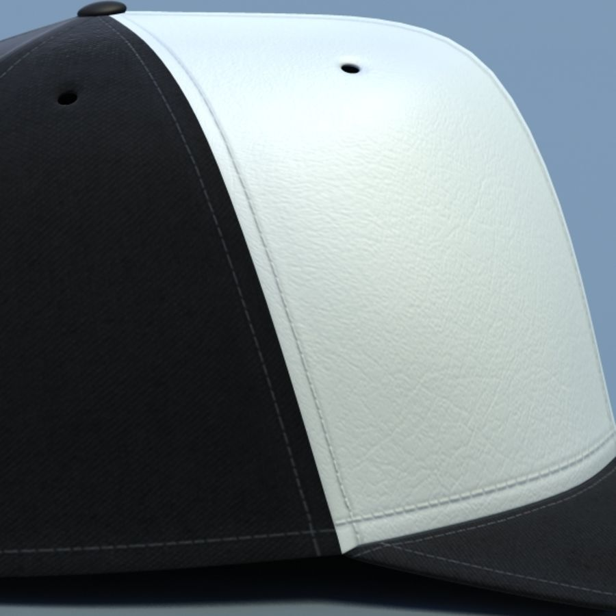Baseball cap #02 royalty-free 3d model - Preview no. 14