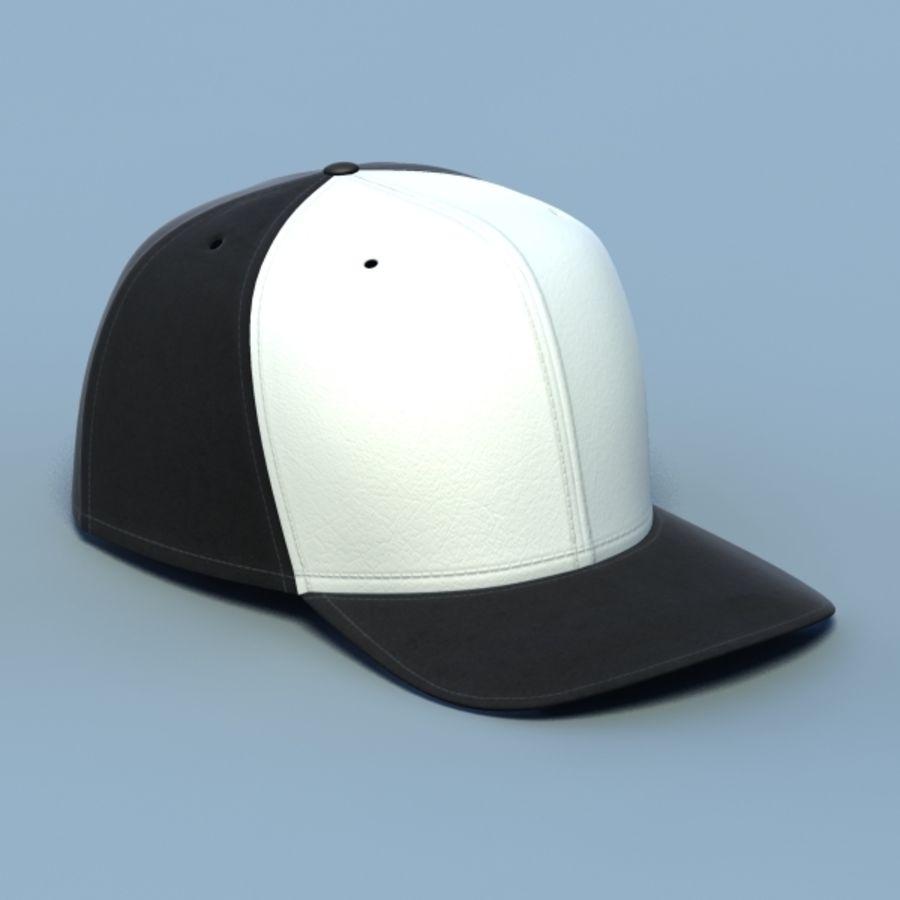 Baseball cap #02 royalty-free 3d model - Preview no. 1