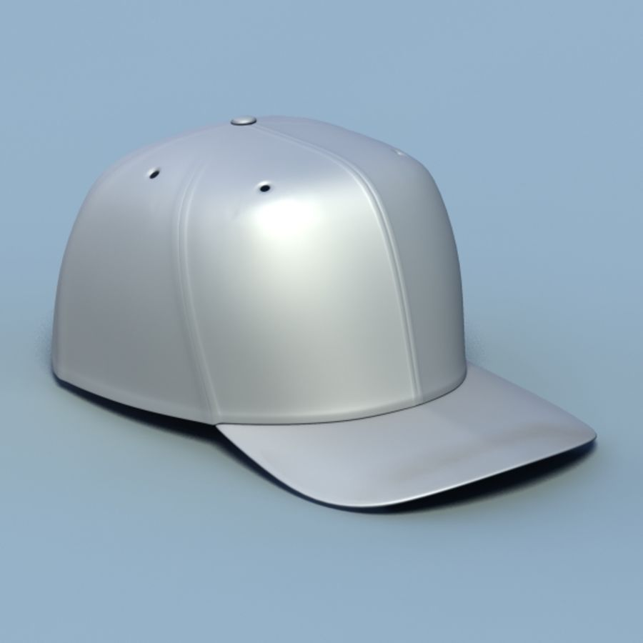 Baseball cap #02 royalty-free 3d model - Preview no. 9