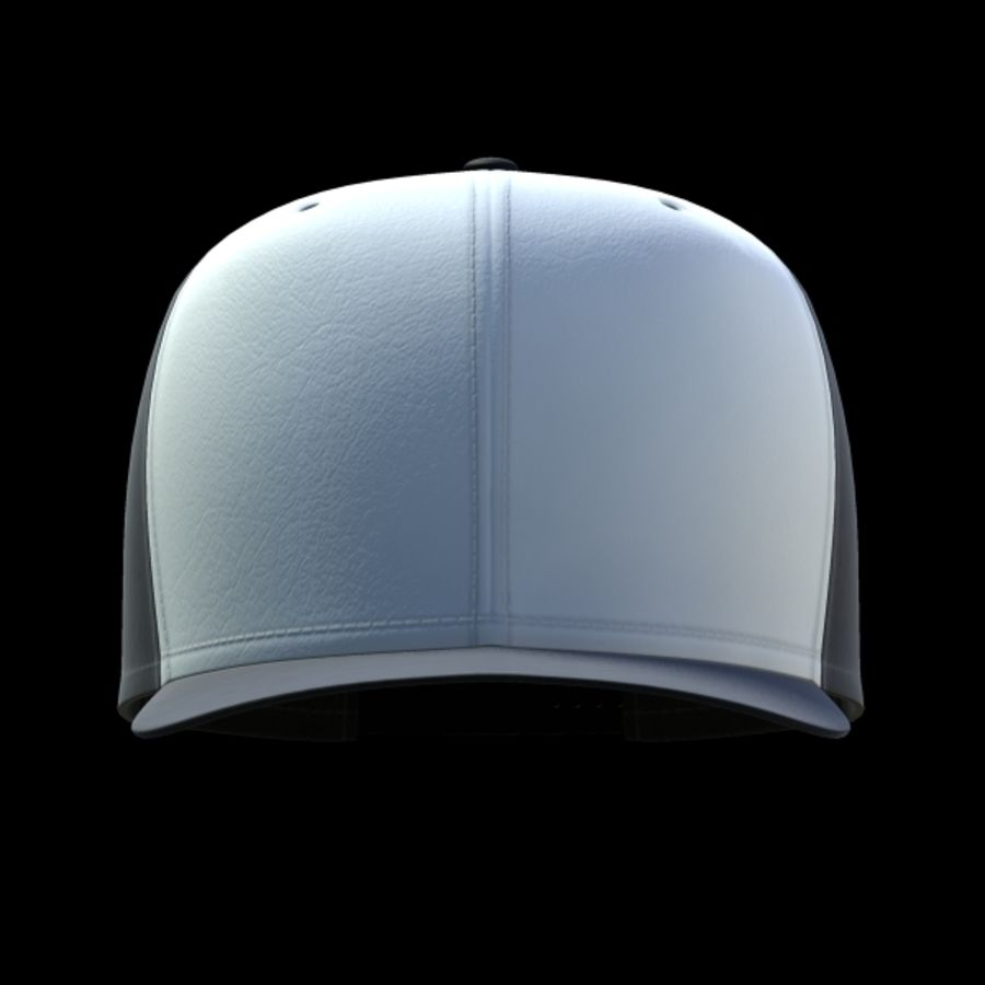 Baseball cap #02 royalty-free 3d model - Preview no. 13