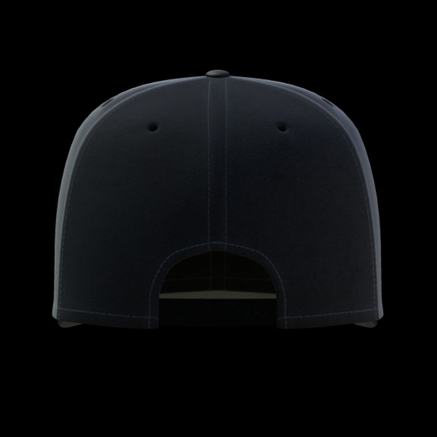 Baseball cap #02 royalty-free 3d model - Preview no. 12