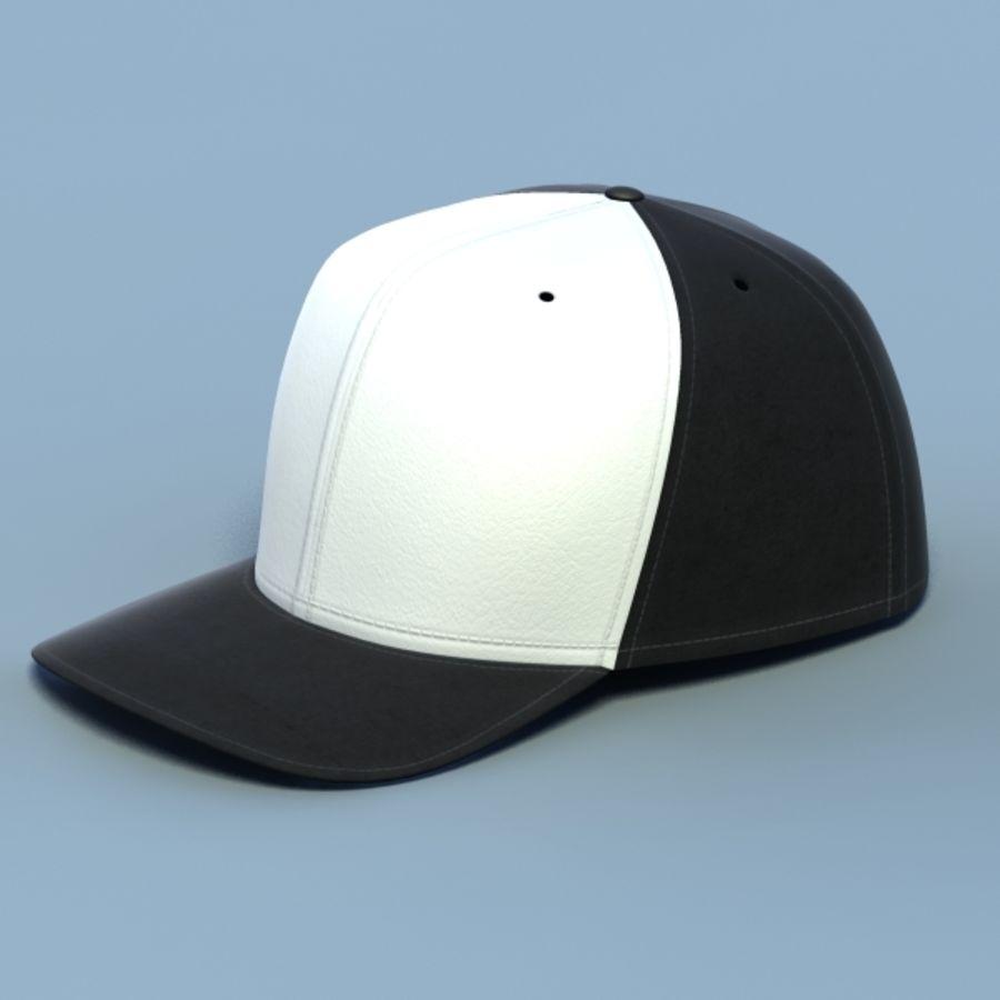 Baseball cap #02 royalty-free 3d model - Preview no. 4