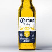 Butelka piwa Corona 3d model