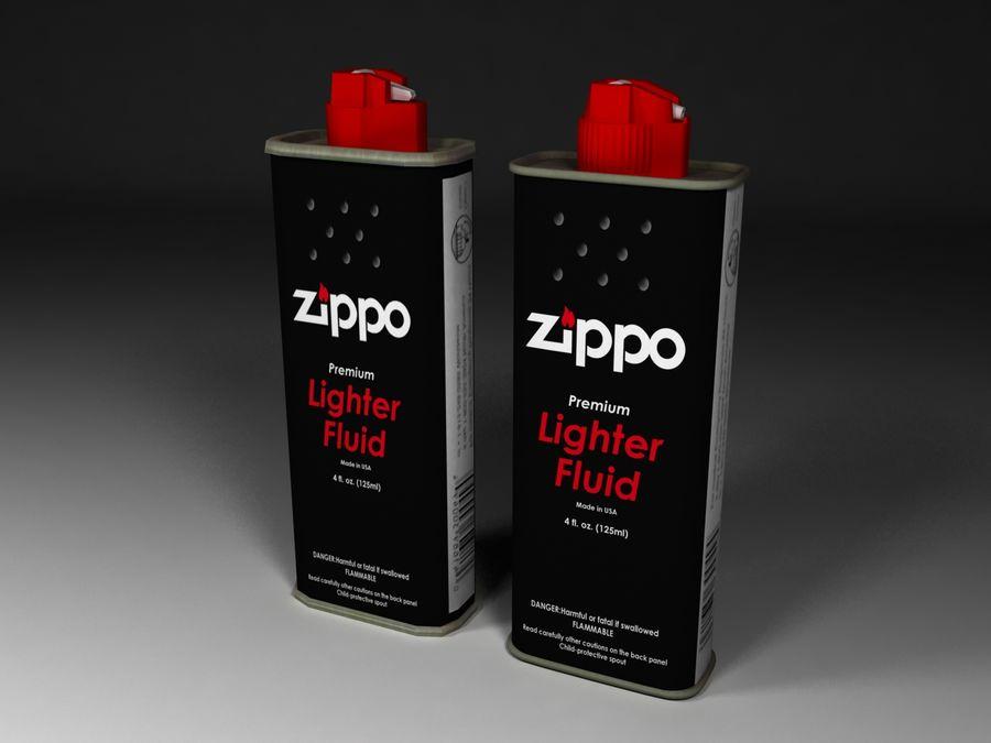Zippo Lighter Fuel 3d Model 12 3ds Obj X Free3d