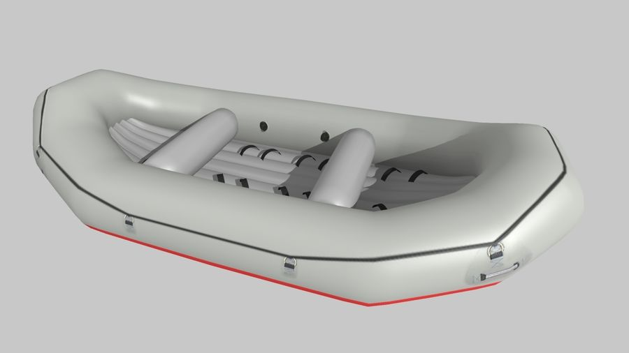 Raft_R7 royalty-free 3d model - Preview no. 1