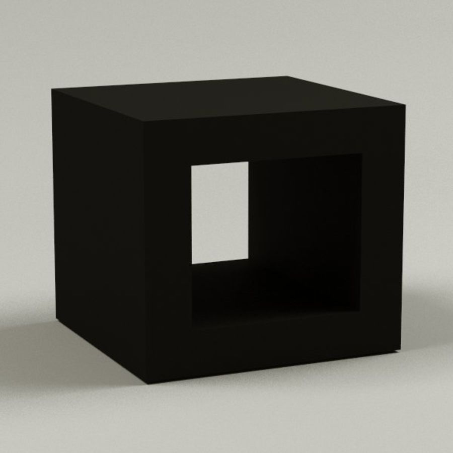 coffee table18 royalty-free 3d model - Preview no. 1