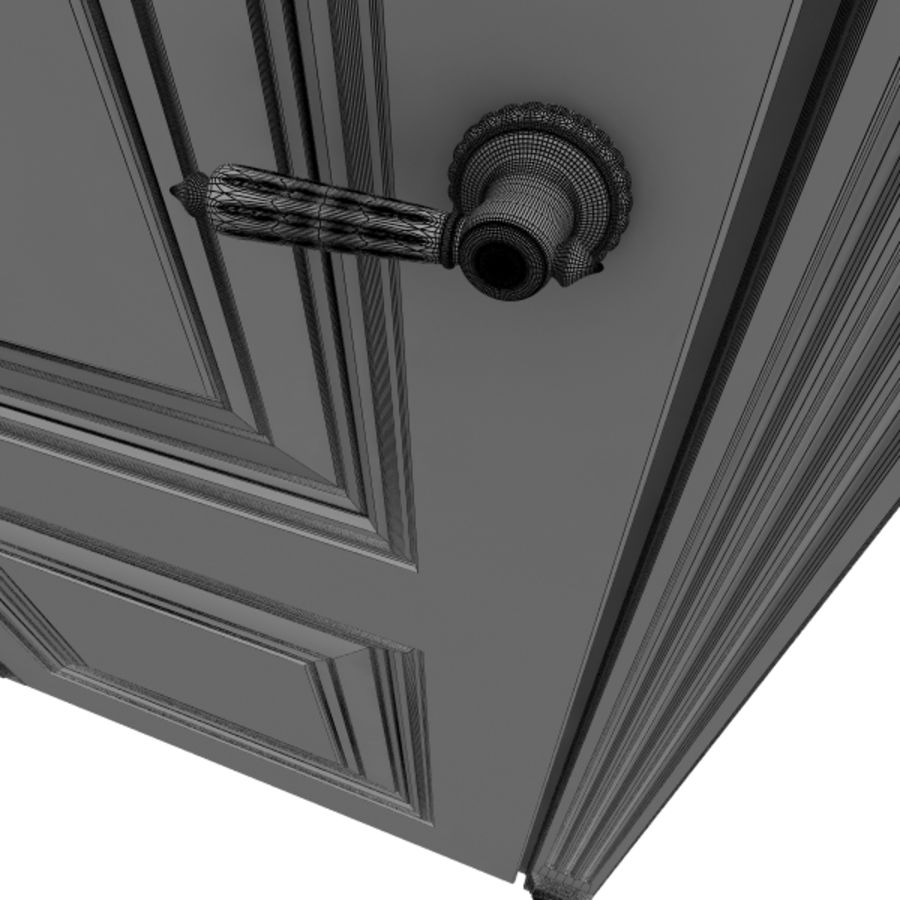 5 Doors royalty-free 3d model - Preview no. 3