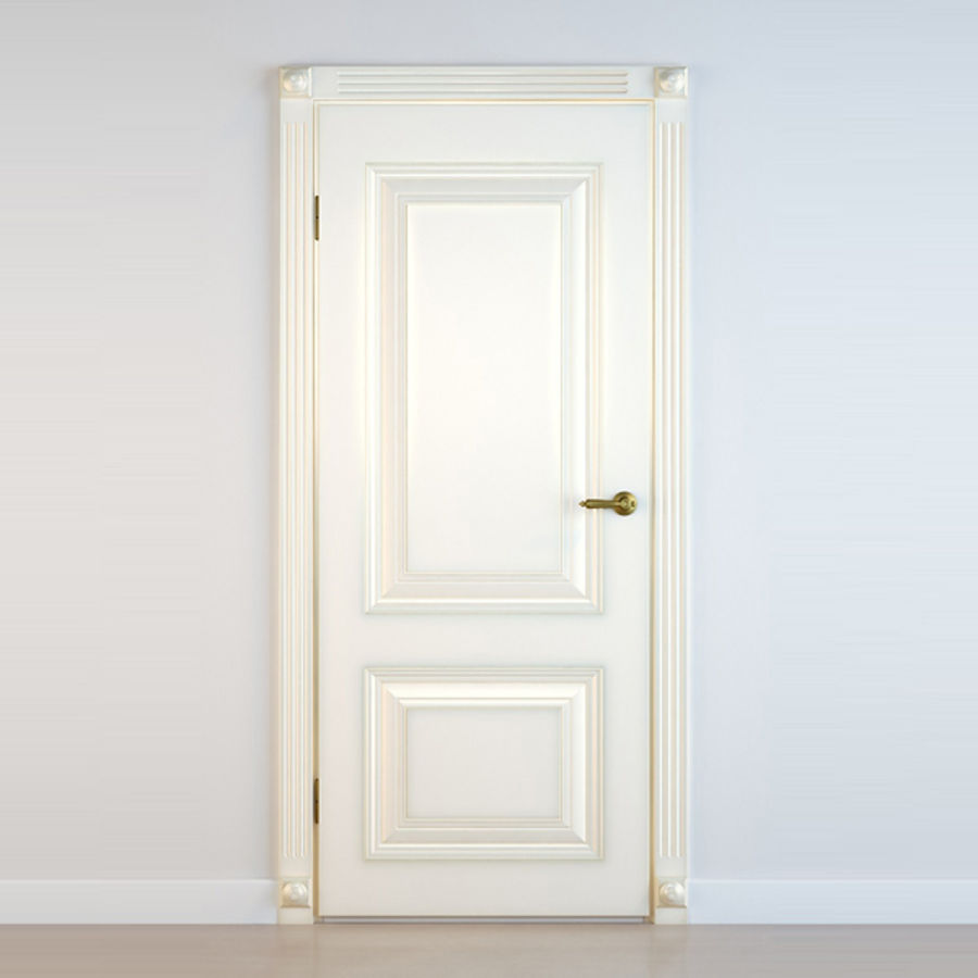 5 Doors royalty-free 3d model - Preview no. 7