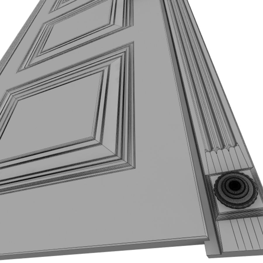 5 Doors royalty-free 3d model - Preview no. 2