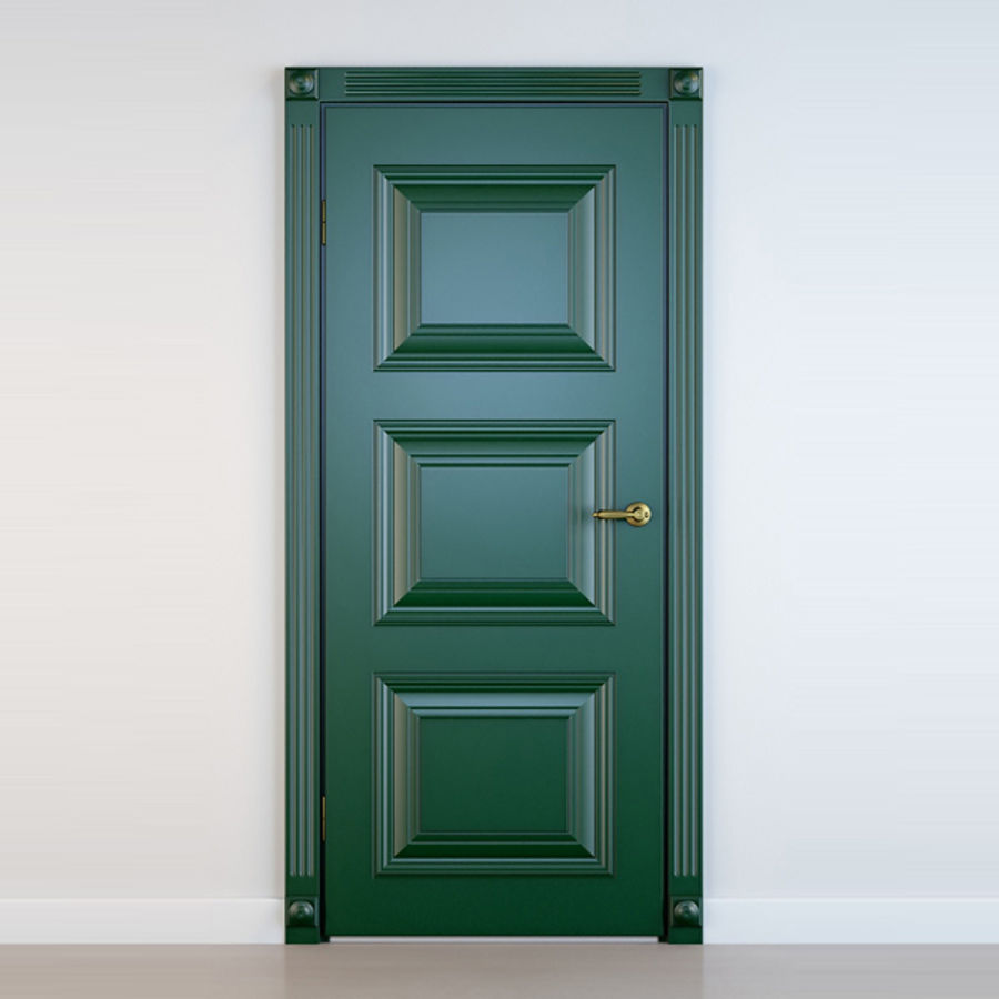 5 Doors royalty-free 3d model - Preview no. 8
