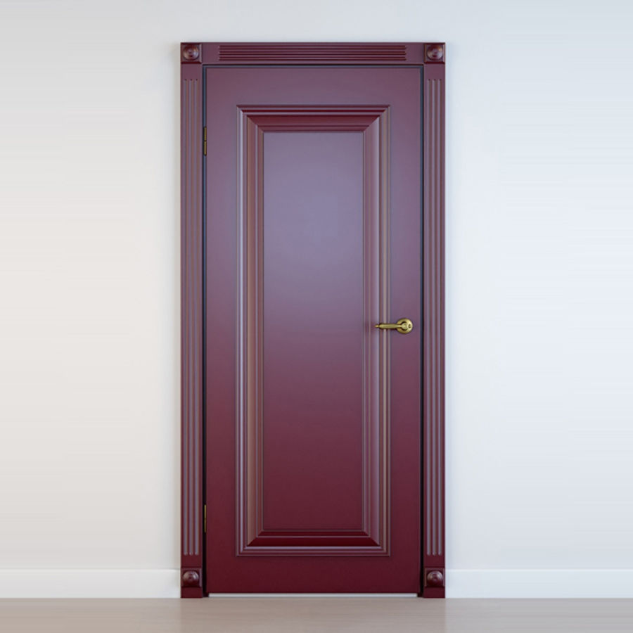 5 Doors royalty-free 3d model - Preview no. 4