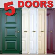 5 Doors 3d model