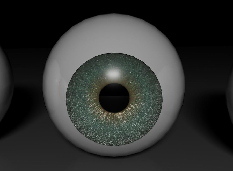 eyes royalty-free 3d model - Preview no. 6