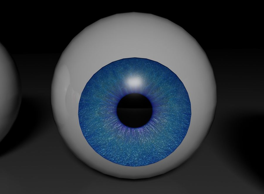 eyes royalty-free 3d model - Preview no. 7