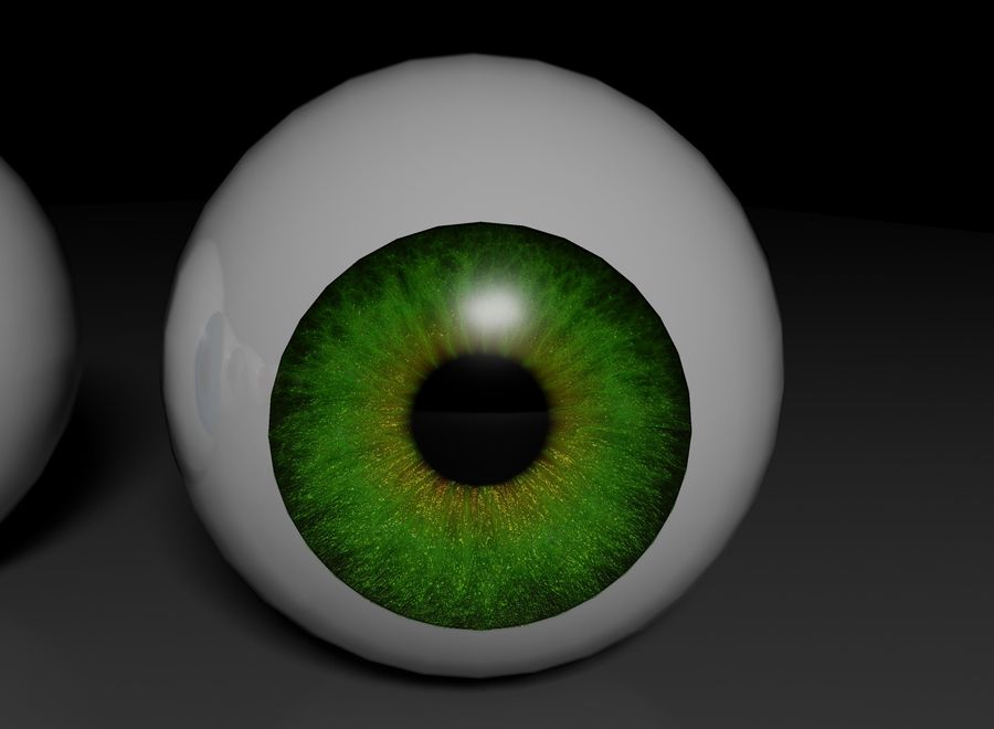 eyes royalty-free 3d model - Preview no. 8