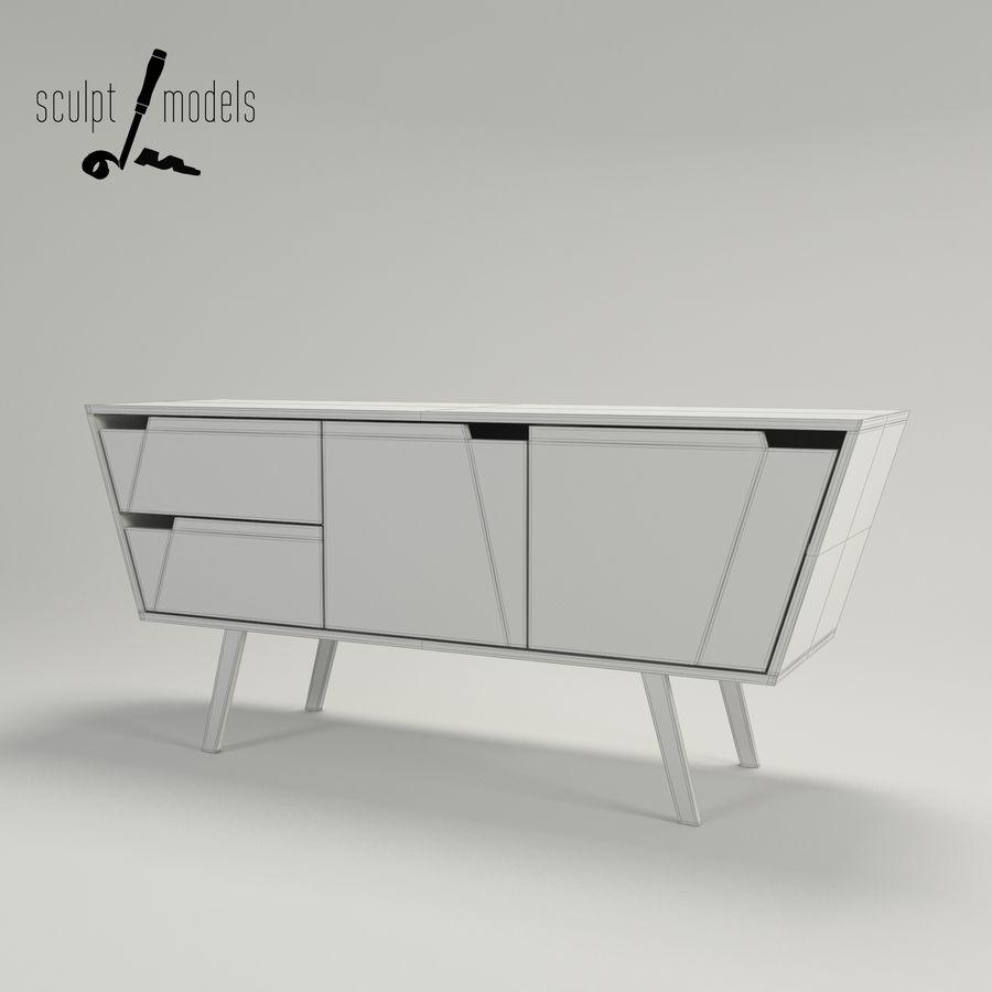 Credenza ad angolo Modello 3D $15 - .max .obj .oth - Free3D