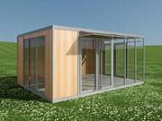 Pavillon 3d model