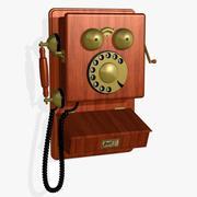 FR teléfono antiguo modelo 3d