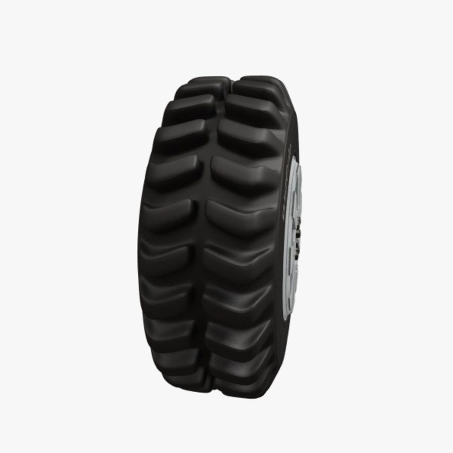 Heavy Vehicle Tyre royalty-free 3d model - Preview no. 3