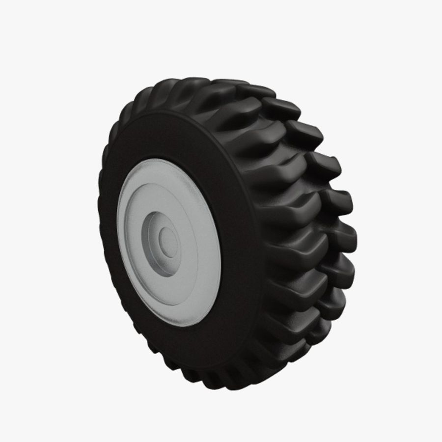 Heavy Vehicle Tyre royalty-free 3d model - Preview no. 4
