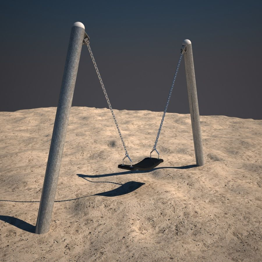 Swing 01 royalty-free 3d model - Preview no. 2