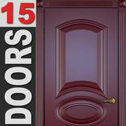 15 Doors Pack 3d model