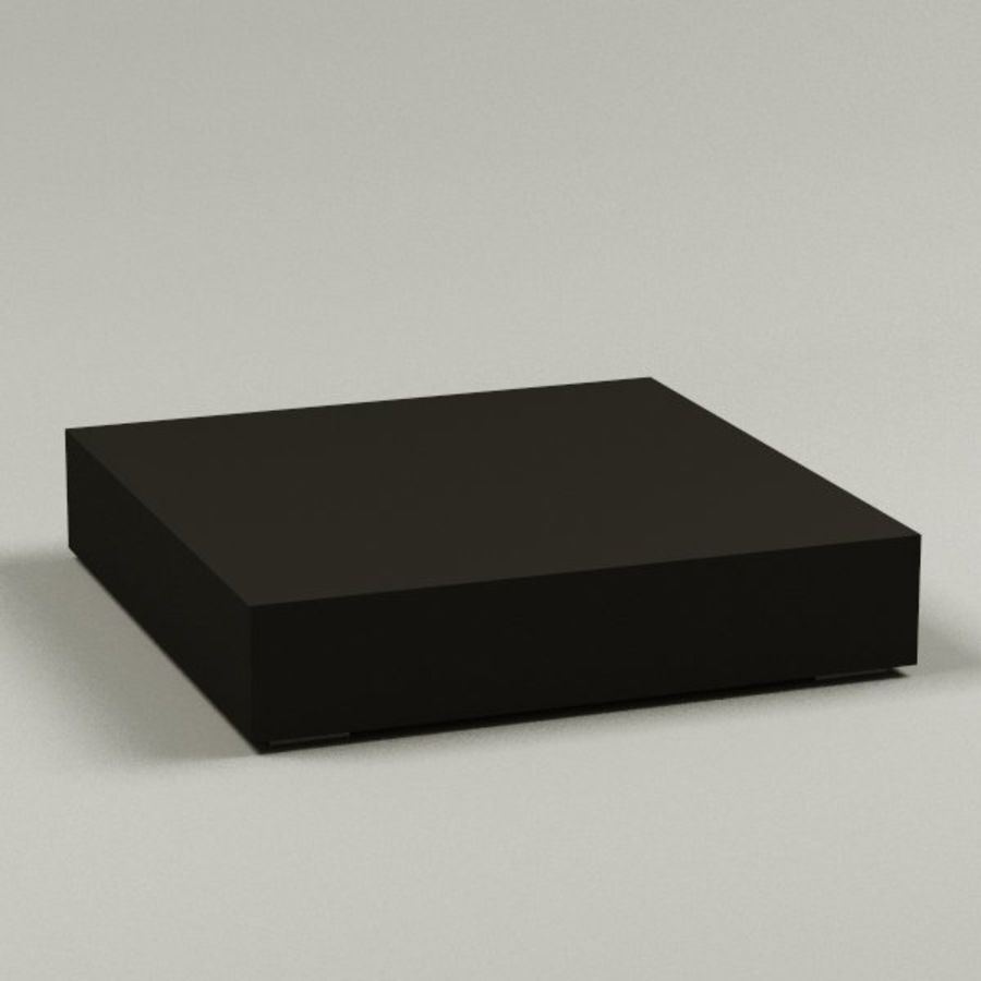 coffee table09 royalty-free 3d model - Preview no. 1