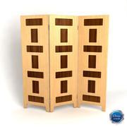 Room divider_08 3d model