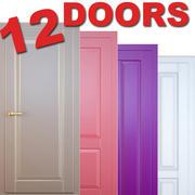 12 drzwi_1 3d model