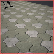 Pavement 3d model