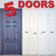 5 drzwi # 2 3d model