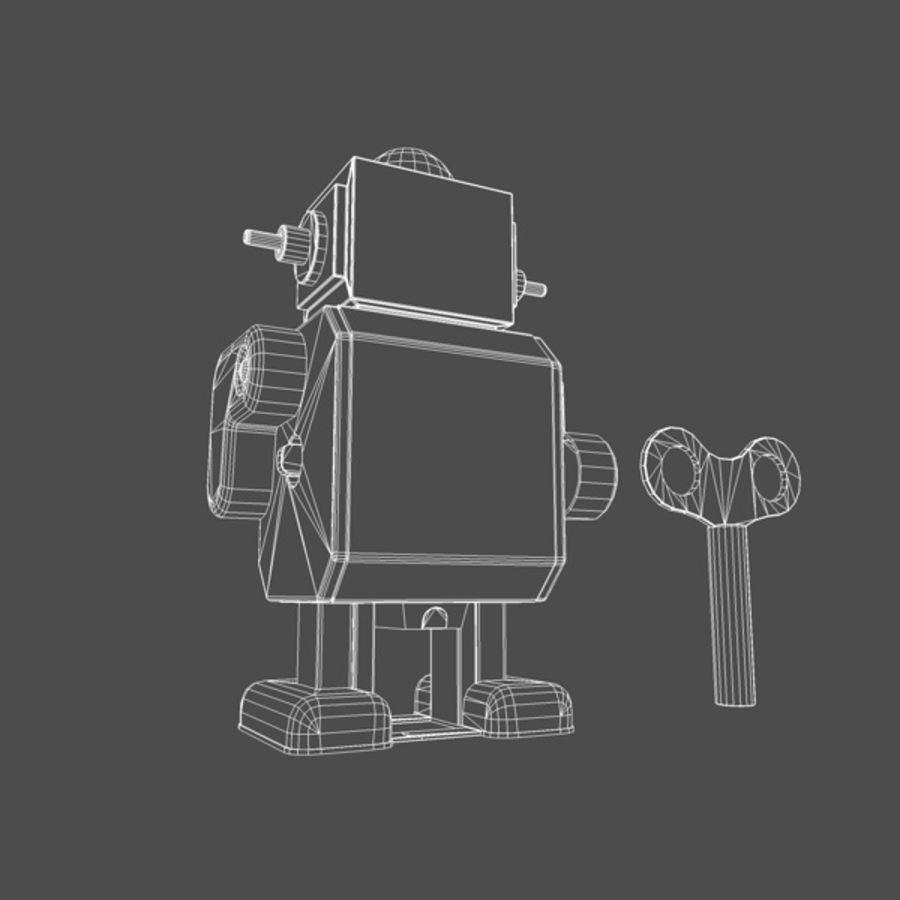 Robot de juguete royalty-free modelo 3d - Preview no. 2