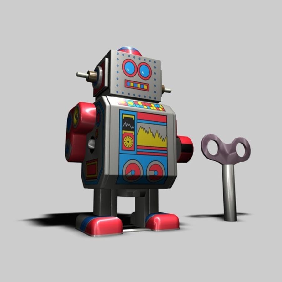 Robot de juguete royalty-free modelo 3d - Preview no. 1