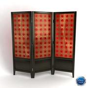 Room divider_01 3d model
